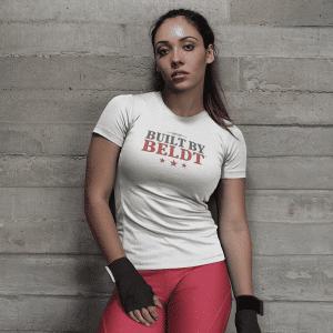 BUILT BY BELDT 100% Cotton Women's T-Shirt